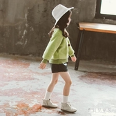 女童秋冬衛衣 2019新款雙面絨兒童冬裝韓版洋氣中大童加絨套頭上衣 YN2364『寶貝兒童裝』