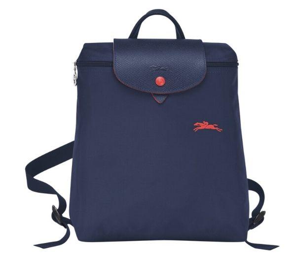 LONGCHAMP 1699 女士LE PLIAGE COLLECTION 系列織物小號手提單肩雙肩包購物袋