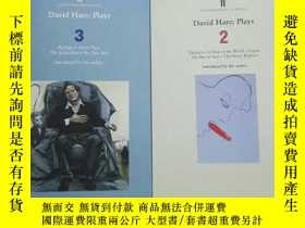 二手書博民逛書店David罕見Hare :Plays 2、3Y137730 David Hare Faber 出版1999