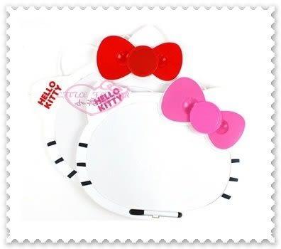 ♥ 小花花日本精品♥ Hello Kitty 立體好清潔頭型萬用留言板 62022309
