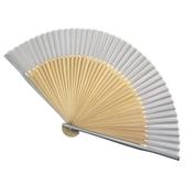 純色真絲扇子折扇
