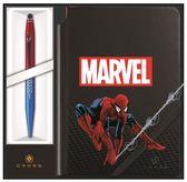CROSS TECH2 MARVEL COLLECTION 兩用原子筆+筆記本 蜘蛛人~限量版禮盒組