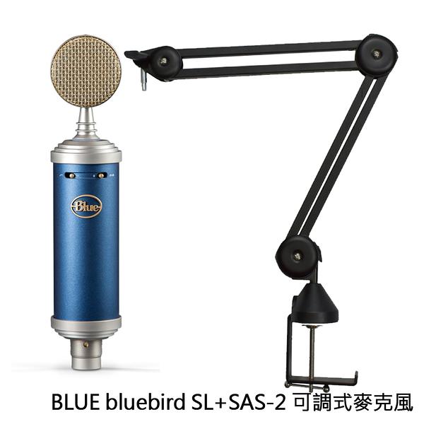 加送防噴罩 BLUE bluebird SL 大型振膜 電容式麥克風 公司貨 兩年保固 + CKMOVA SAS-2 麥克風支架