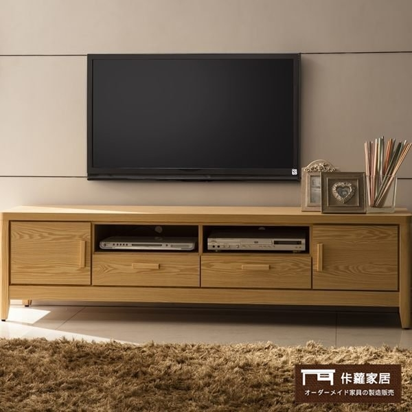 【這家子家居】北歐 天然原木色 6尺 電視櫃 茶几 沙發 桌子 客廳【C0347】
