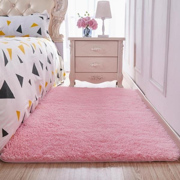 絨毛地毯客廳臥室房間女生粉色公主少女可定制長方形 黛尼時尚精品