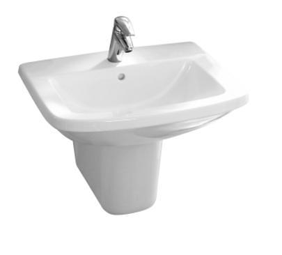 【麗室衛浴】美國 KOHLER Panache系列 面盆K-17656T-0+長腳柱
