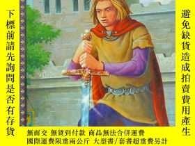 二手書博民逛書店King罕見Arthur and the Knightr of the Round Table (英文原版)Y