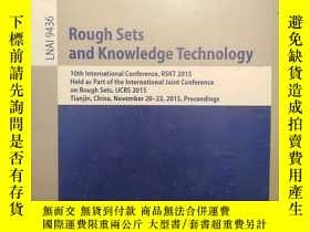二手書博民逛書店Rough罕見Sets and Knowledge Techno