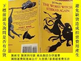 二手書博民逛書店THE罕見WORST WITCH STRIKES AGAIN:最壞的女巫又來了Y200392