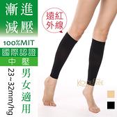 23~32mmHg 束小腿│漸進減壓│男女尺寸│遠紅外線 中壓 【康護你】