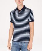 美國代購 Tommy Hilfiger 六種顏色 棉質條紋POLO衫 (XS~XXL) 1357