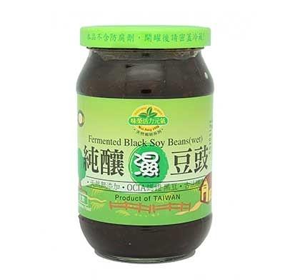 [味榮] 純釀濕豆鼓 450公克/罐