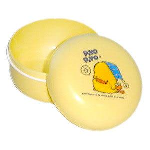 【奇買親子購物網】黃色小鴨痱子粉盒