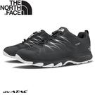 【The North Face 男 DryVent防水健行鞋《灰/白》】4PF7/健行鞋/登山/橡膠鞋底
