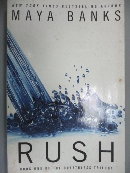 【書寶二手書T9/原文小說_LKJ】Rush_Banks, Maya
