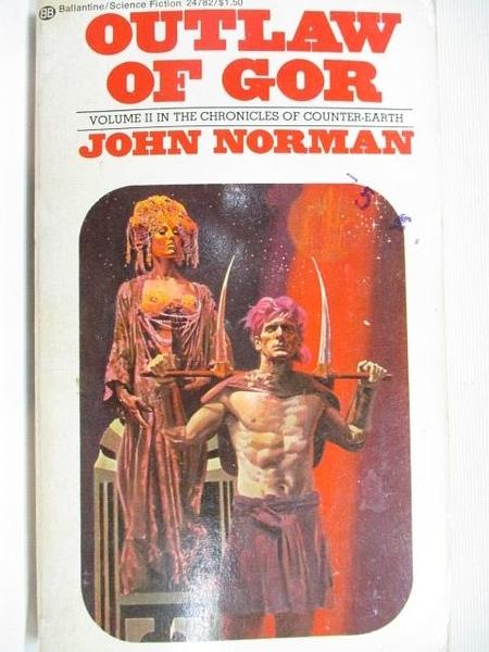 【書寶二手書T1/原文小說_B8A】Outlaw of Gor_John Norman