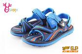 GP涼鞋 中大童 磁扣兩穿防水涼鞋 I6868#藍色◆OSOME奧森童鞋