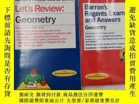 二手書博民逛書店Let s罕見Review: Geometry +Geometr
