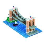 《 Nano Block 迷你積木 》NBH-169 布魯克林大橋 ╭★ JOYBUS玩具百貨