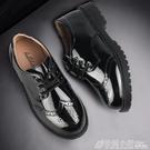 男童皮鞋男孩英倫童鞋學生兒童演出鞋小鞋子黑色單鞋軟底 萬聖節鉅惠