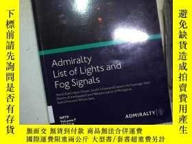 二手書博民逛書店ADMIRALTY罕見LIST OF LIGHTS AND FO