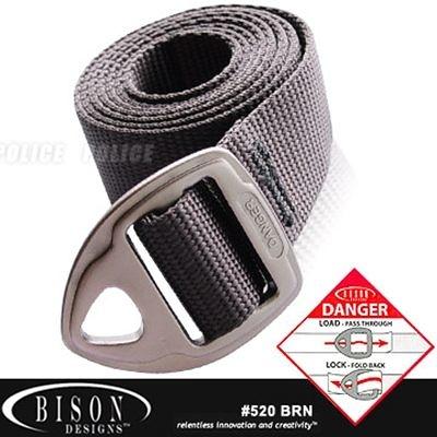 BISON Danger Belt 腰帶 # 520 BRN【AH24059】JC雜貨