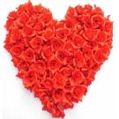 【塔克】花朵 排字 專屬 玫瑰花 愛心 仿真花 人造花 排字玫瑰 假花 求婚道具 婚禮小物 婚禮佈置