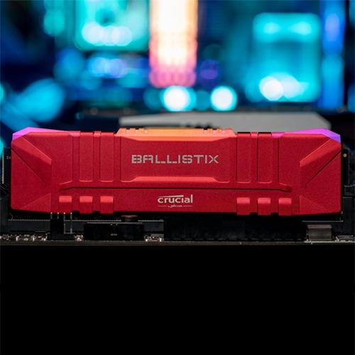 Crucial 美光 英睿達 Micron Crucial Ballistix D4 3200/16G 白 單支包 低延遲CL 16-18-18 美光超頻E-Die