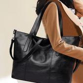 推薦包包女新款女士百搭正韓單肩包大容量手提包潮軟皮大包斜挎包【跨店滿減】
