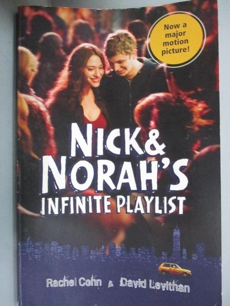 【書寶二手書T5/原文小說_HNM】Nick & Norah's Infinite Playlist_Cohn,