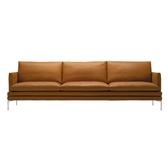 皮質沙發頭層皮質小戶型三雙人客廳組合工業風極簡意式皮質沙發xw