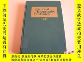 二手書博民逛書店CURRENT罕見BIOGRAPHY YEARBOOK 1991