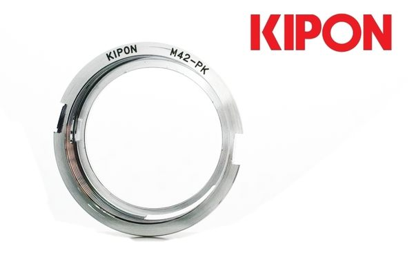 又敗家@KIPON M42轉PK轉接環(有檔板,鏡頭M42轉PENTAX KAF接環)M42-PENTAX轉接環M42-PK K-5 K-7 K-3