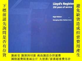 二手書博民逛書店Lloyd s罕見Register, 250 years of