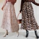 MIUSTAR 韓國熱賣!多款必備鬆緊細百褶雪紡裙(共5色)【NH2653】預購
