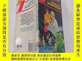 二手書博民逛書店Look罕見out secret seven小心秘密七Y212829