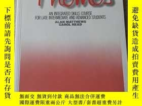 二手書博民逛書店Themes:罕見An Integrated Skills Co