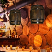 吊燈 美式復古工業風餐廳酒莊創意裝飾酒桶火鍋店餐吧木桶 【現貨快出】YJT