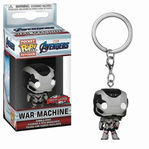 【 Funko 】  POP!系列 POP鑰匙圈 復仇者聯盟:終局之戰 - 戰爭機器╭★ JOYBUS玩具百貨
