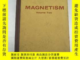 二手書博民逛書店MAGNETISM罕見volume two 磁學 第二2卷(H3