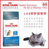 *WANG*法國皇家 L40 肥胖貓專用 貓飼料-10kg