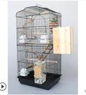 新款大型豪華鸚鵡籠玄鳳牡丹鷯八哥繁殖籠虎皮鳥籠子大號別墅超大  聖誕節免運