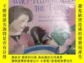 二手書博民逛書店1990年版罕見The Woman Who Flummoxed the Fairies 精裝英文版 兒童繪本故事英
