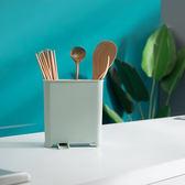 ✭慢思行✭【L178】多功能加厚筷子筒 廚房 置物架 收納筒 瀝水架 飯勺 筷子 叉子 湯匙