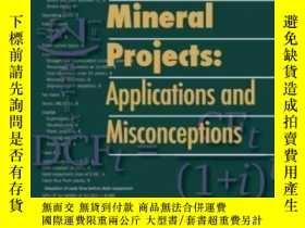 二手書博民逛書店【罕見】1998年出版 Evaluating Mineral P