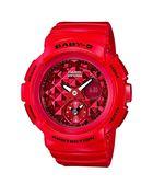 卡西歐CASIO Baby-G街頭時尚(BGA-195M-4A)紅