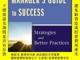 二手書博民逛書店The罕見Leading-Edge Manager s Guide to Success: Strategies