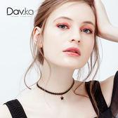 鎖骨鏈簡約頸鏈短款項鏈女潮網紅項圈脖子飾品頸帶氣質個性