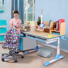 【成長天地】100公分多功能成長書桌椅組 人體工學椅 桌面可畫畫  ME355+AU303【超值無贈品組】