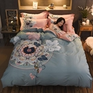 床包組 春夏純棉四件套全棉100床單被套床笠被單床上用品新中式4件套床品